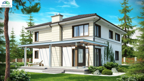 Типовой проект жилого дома zx33