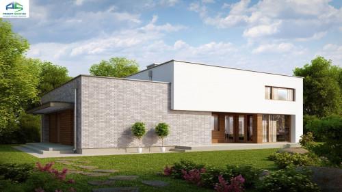 Типовой проект жилого дома zx34