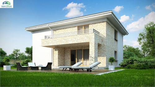 Типовой проект жилого дома zx4 a