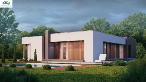 Типовой проект жилого дома zx49