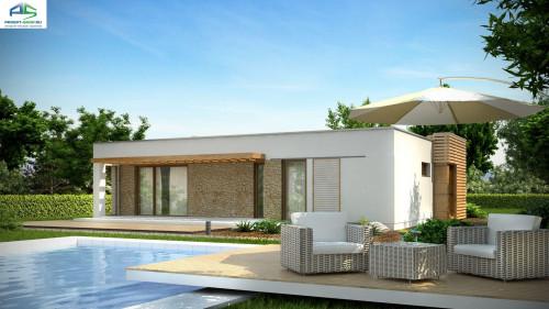 Типовой проект жилого дома zx53
