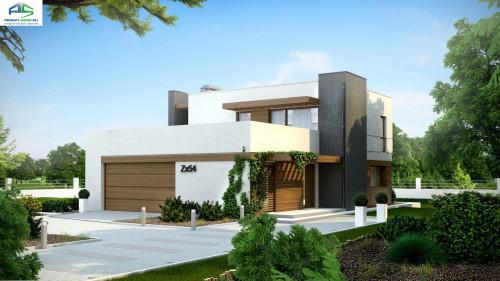 Типовой проект жилого дома zx54