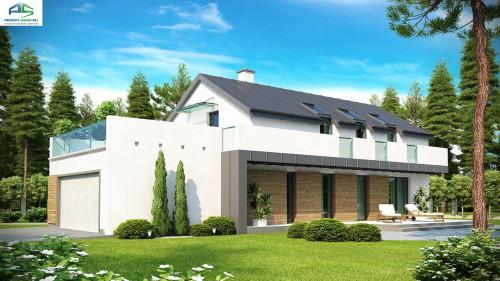 Типовой проект жилого дома zx60