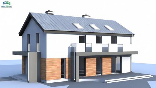 Типовой проект жилого дома zx60bg