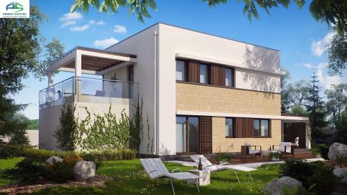 Типовой проект жилого дома zx63