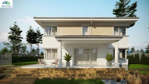 Типовой проект жилого дома zx66