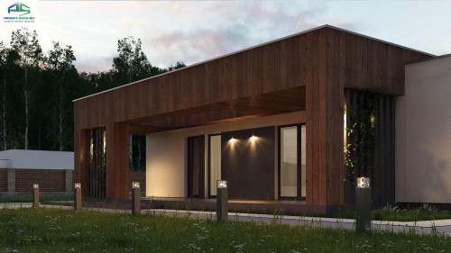 Типовой проект жилого дома zx76
