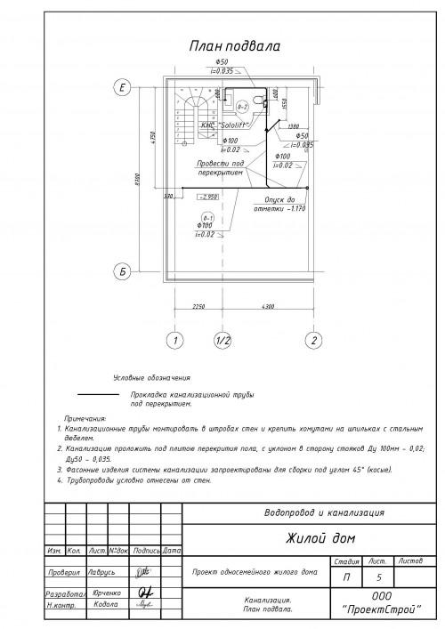 Архитектурный раздел
