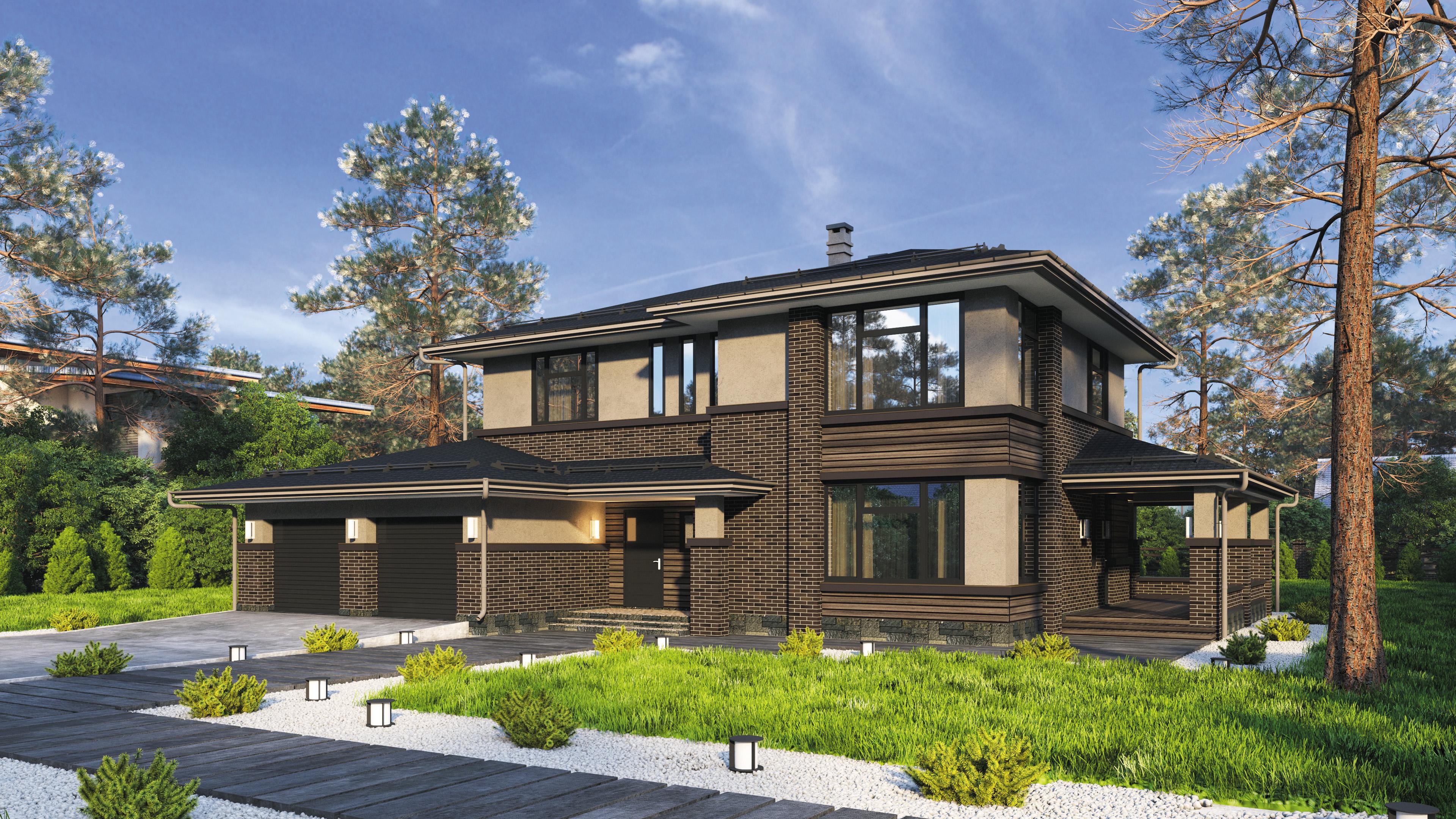 Проекты домов 250 кв.м.