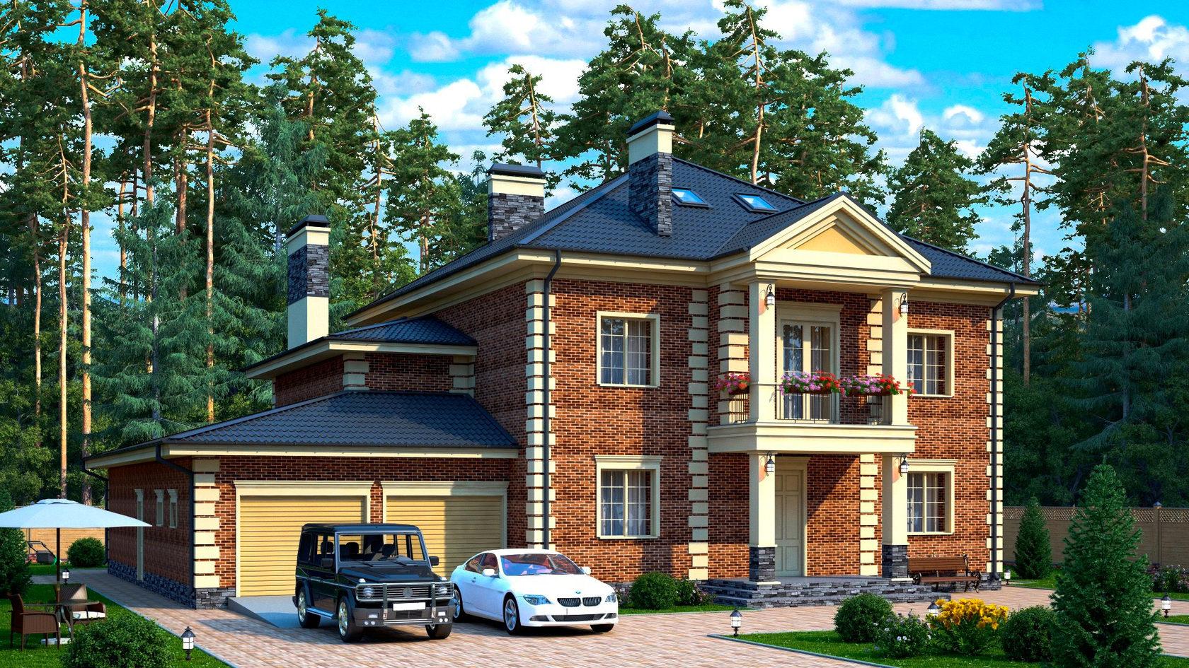 Проекты домов 400 кв.м