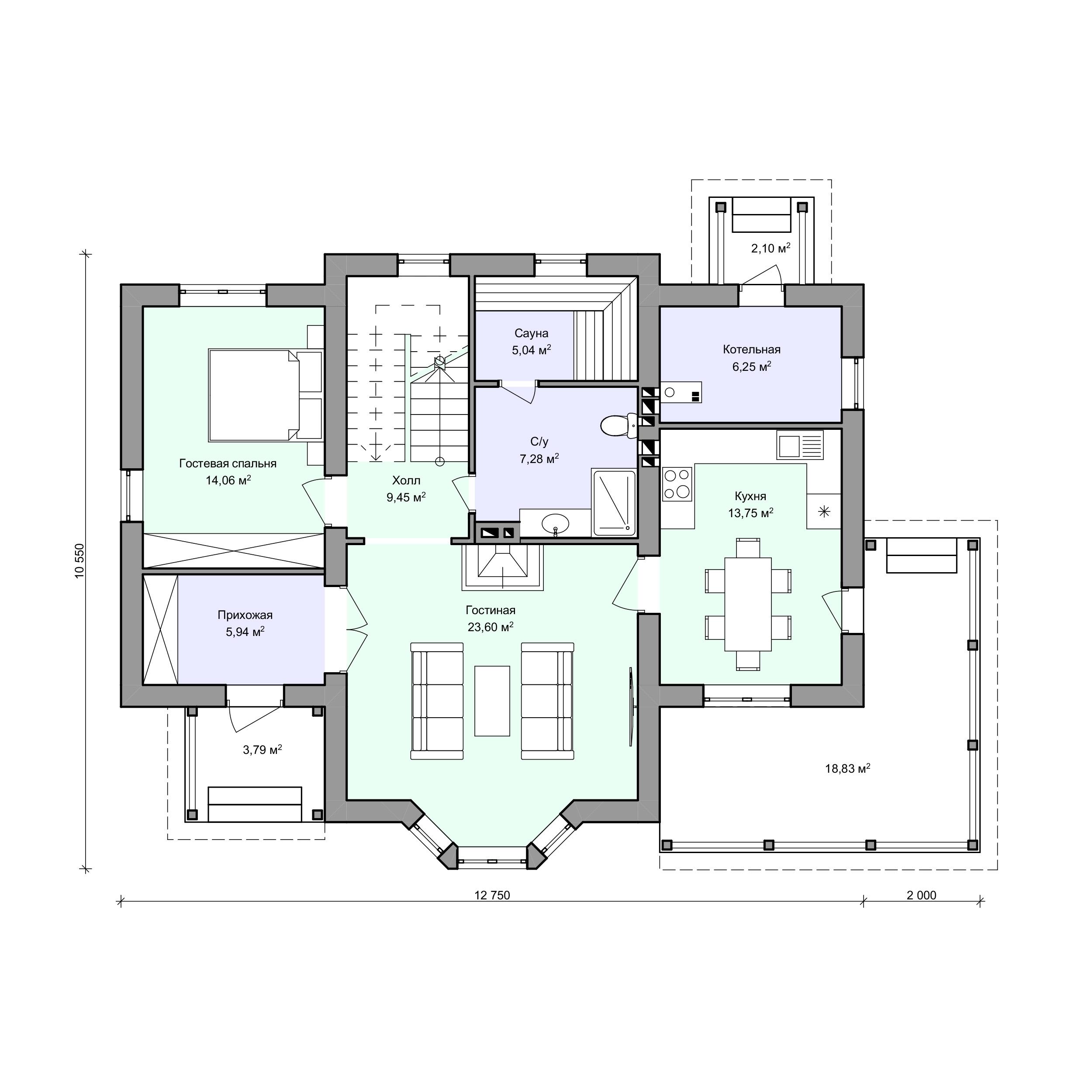 Планировка проекта 2-165