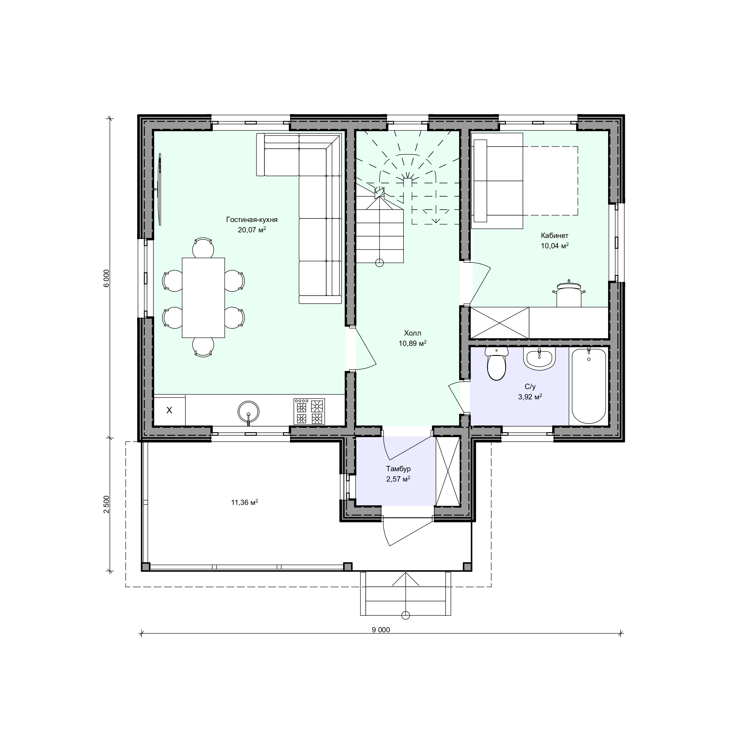 Планировка проекта 2-169
