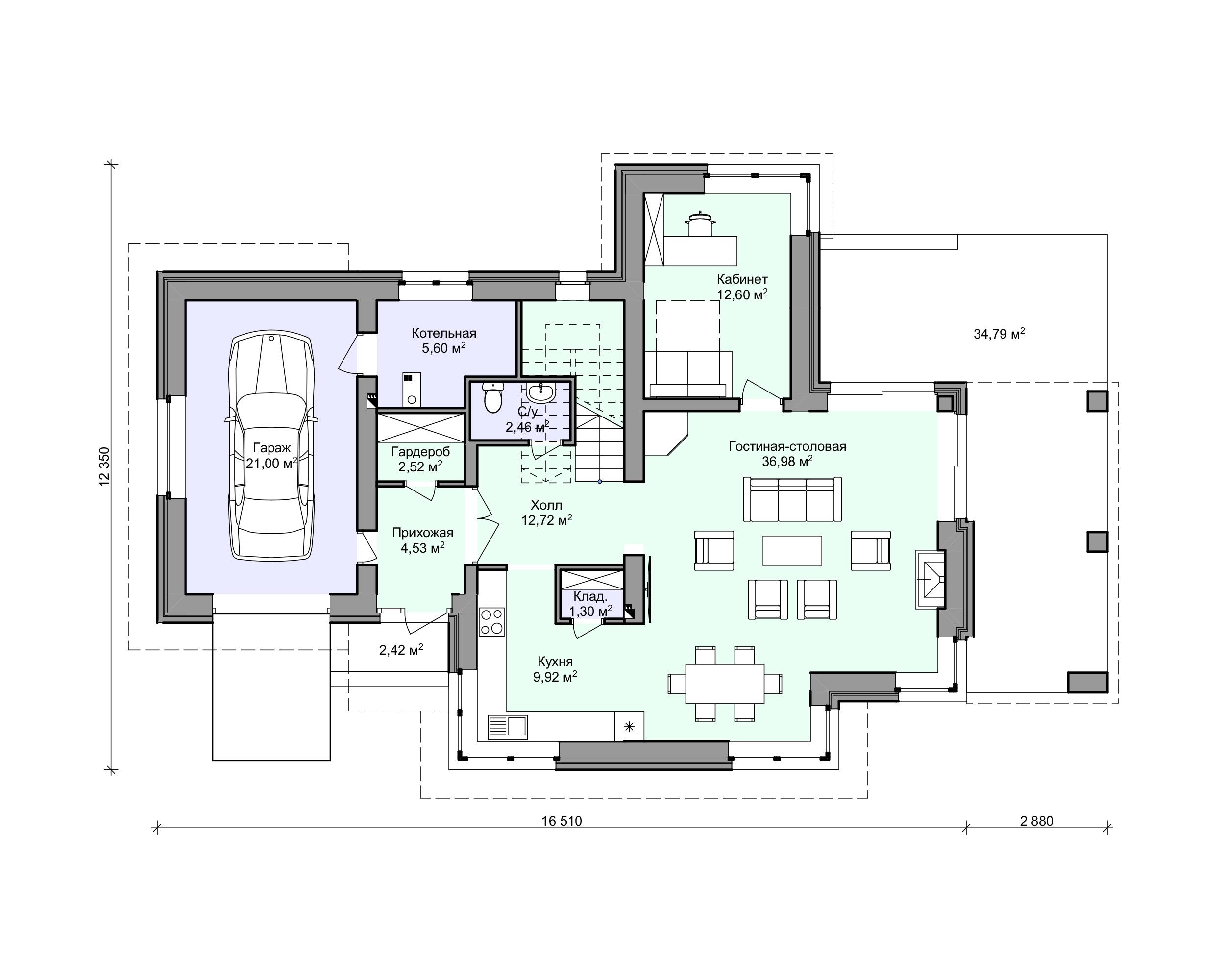 Планировка проекта 2-170