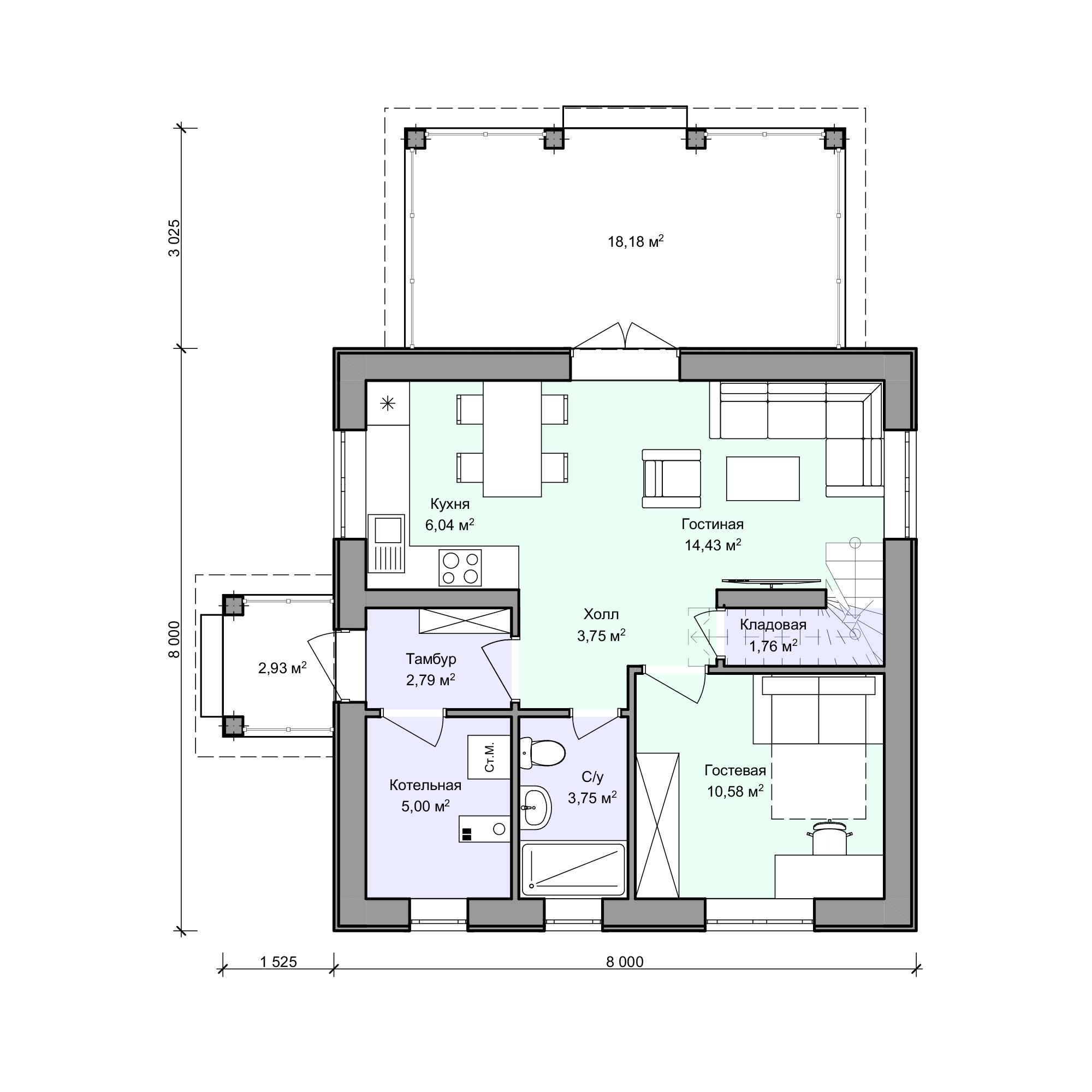 Планировка проекта 2-171