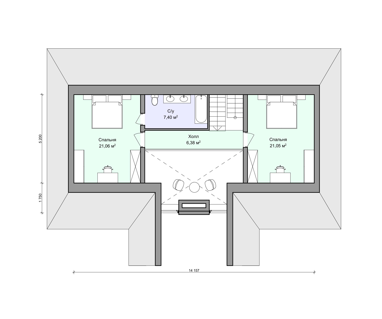 Планировка проекта 2-173