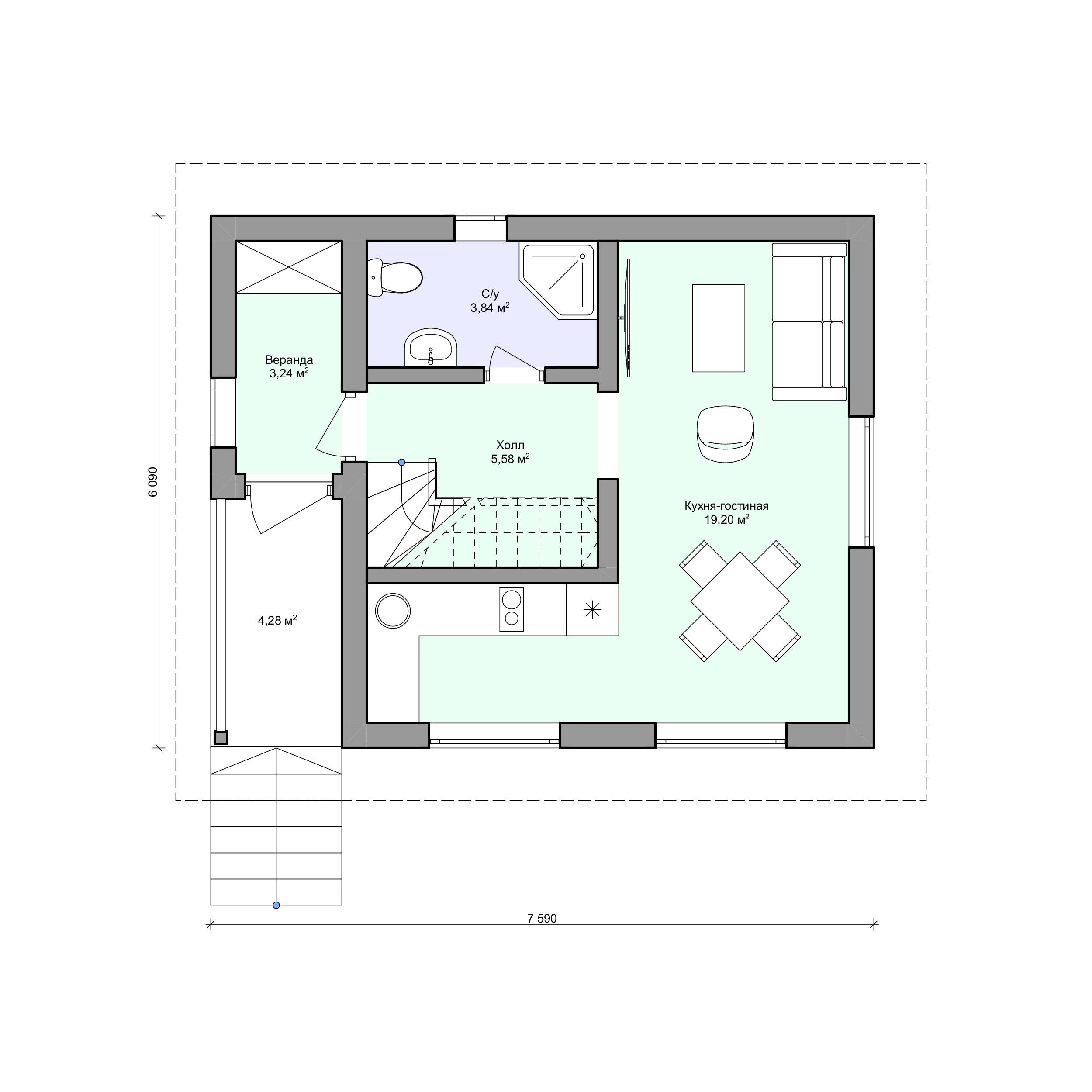 Планировка проекта 2-178