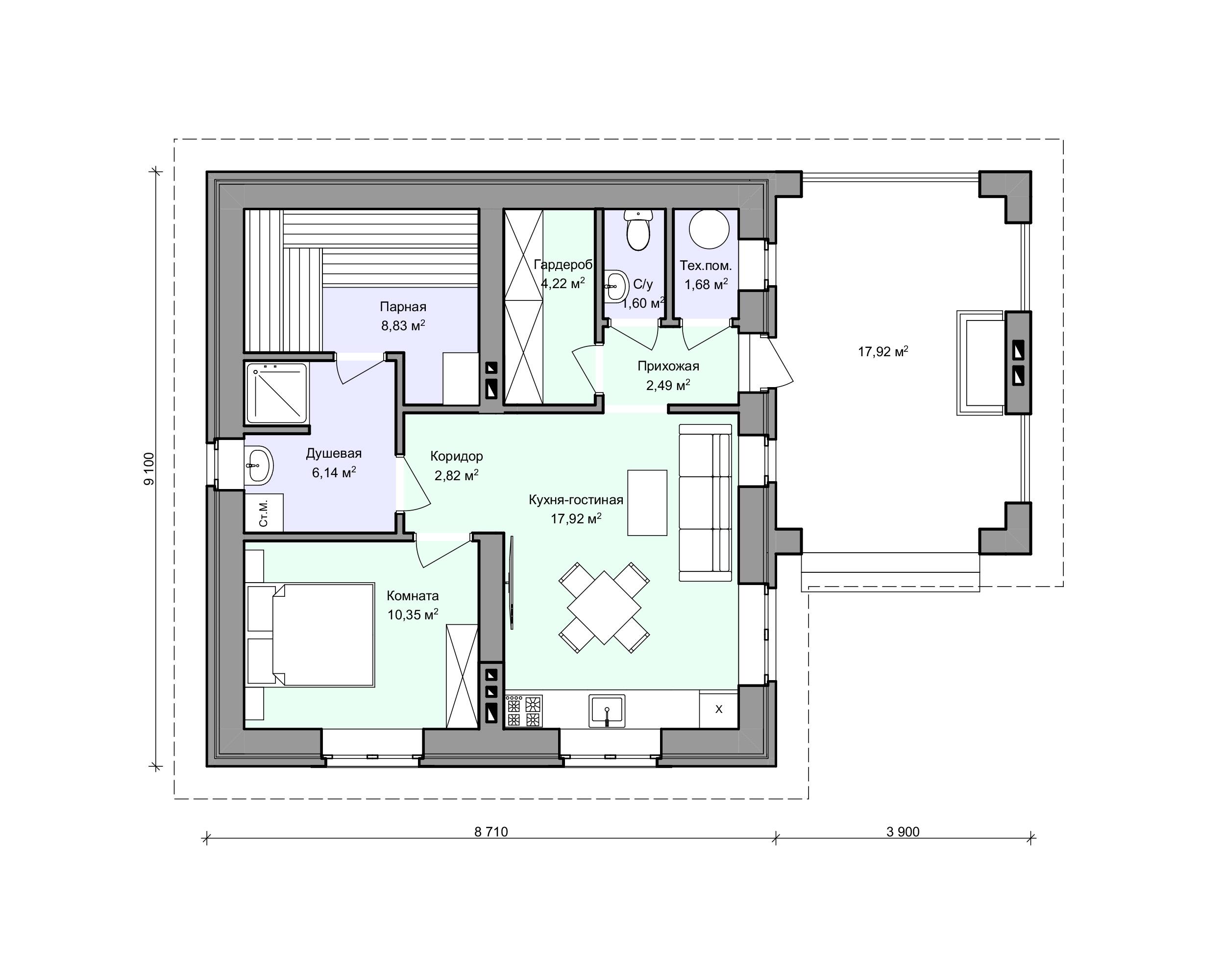 Планировка проекта 2-179