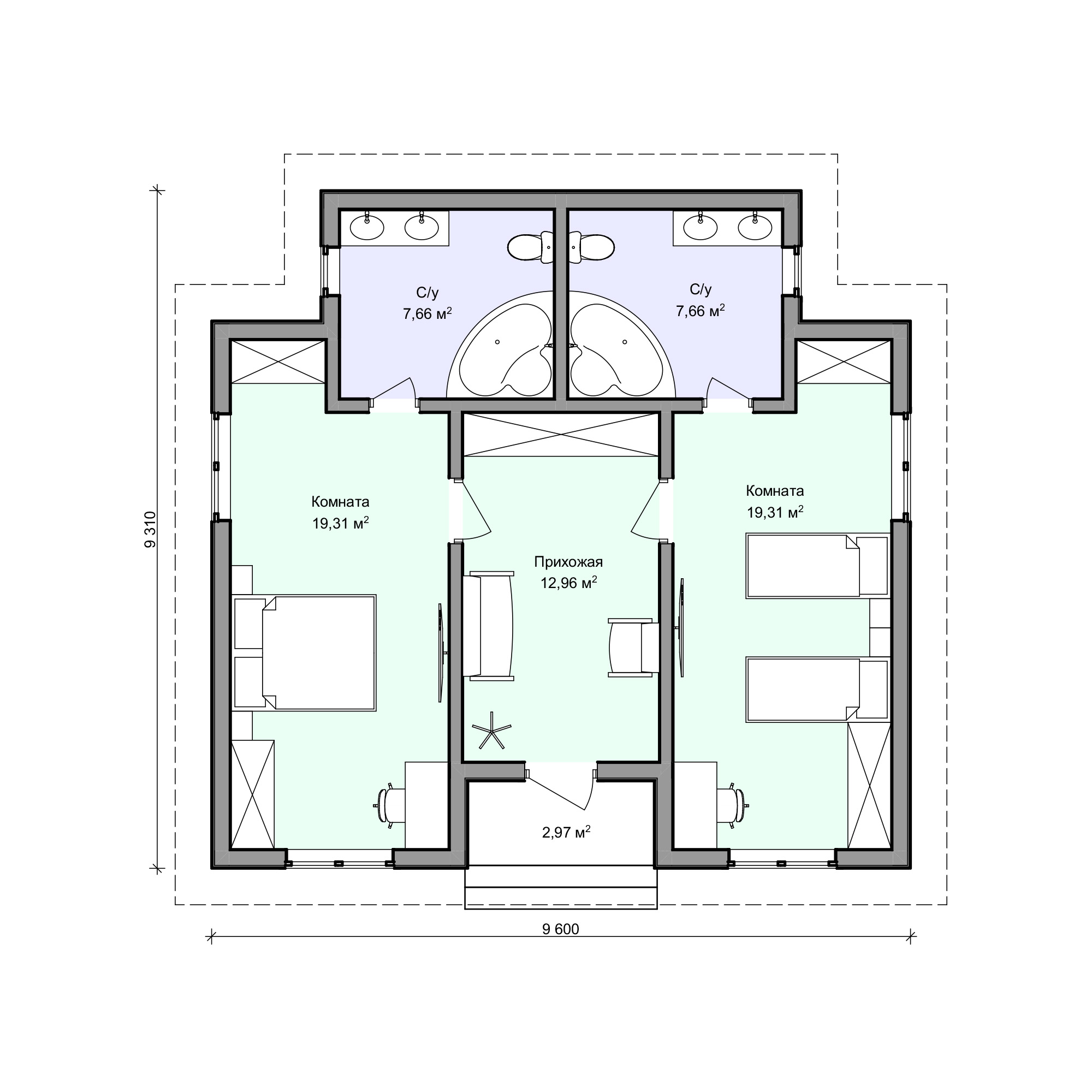 Планировка проекта 2-181