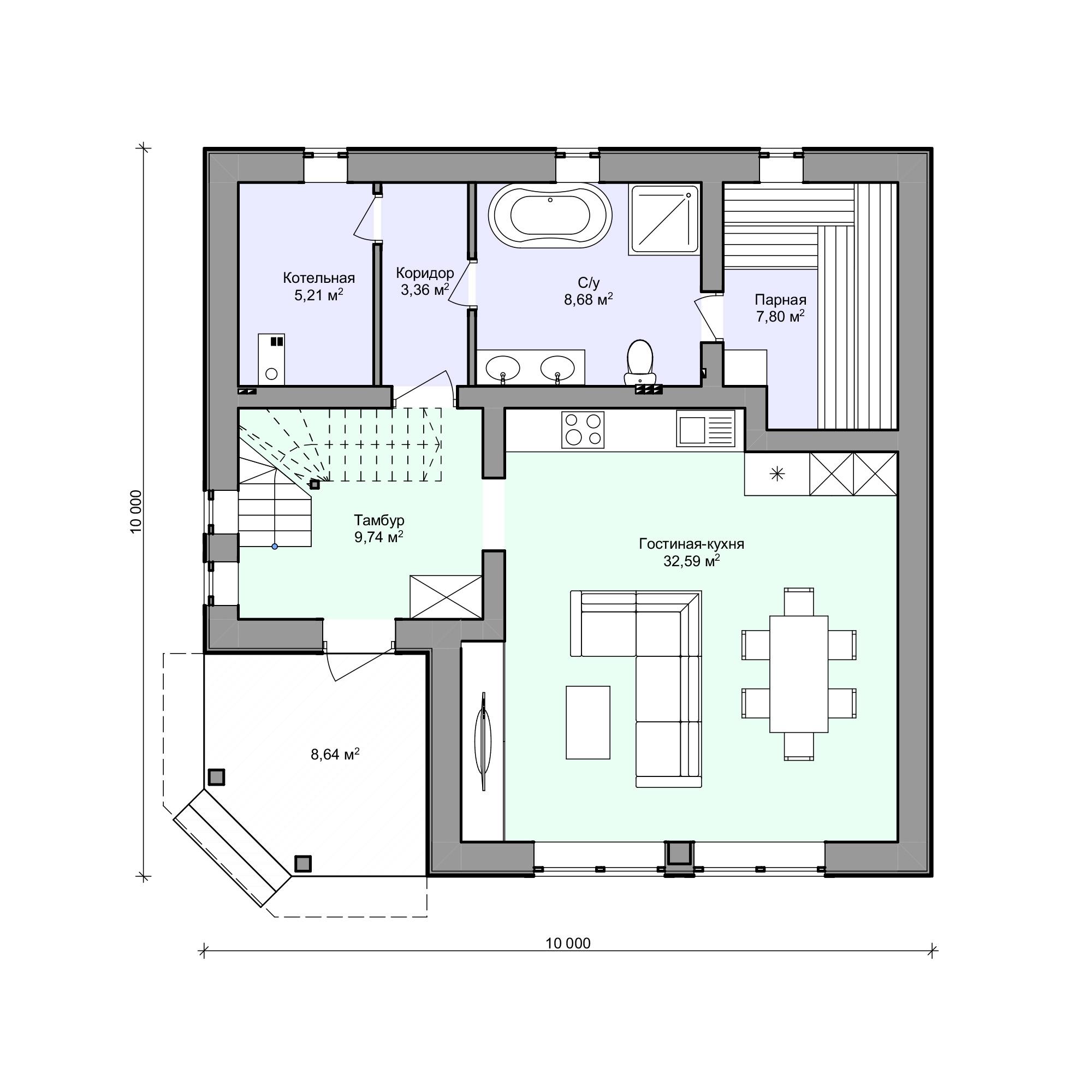 Планировка проекта 2-183