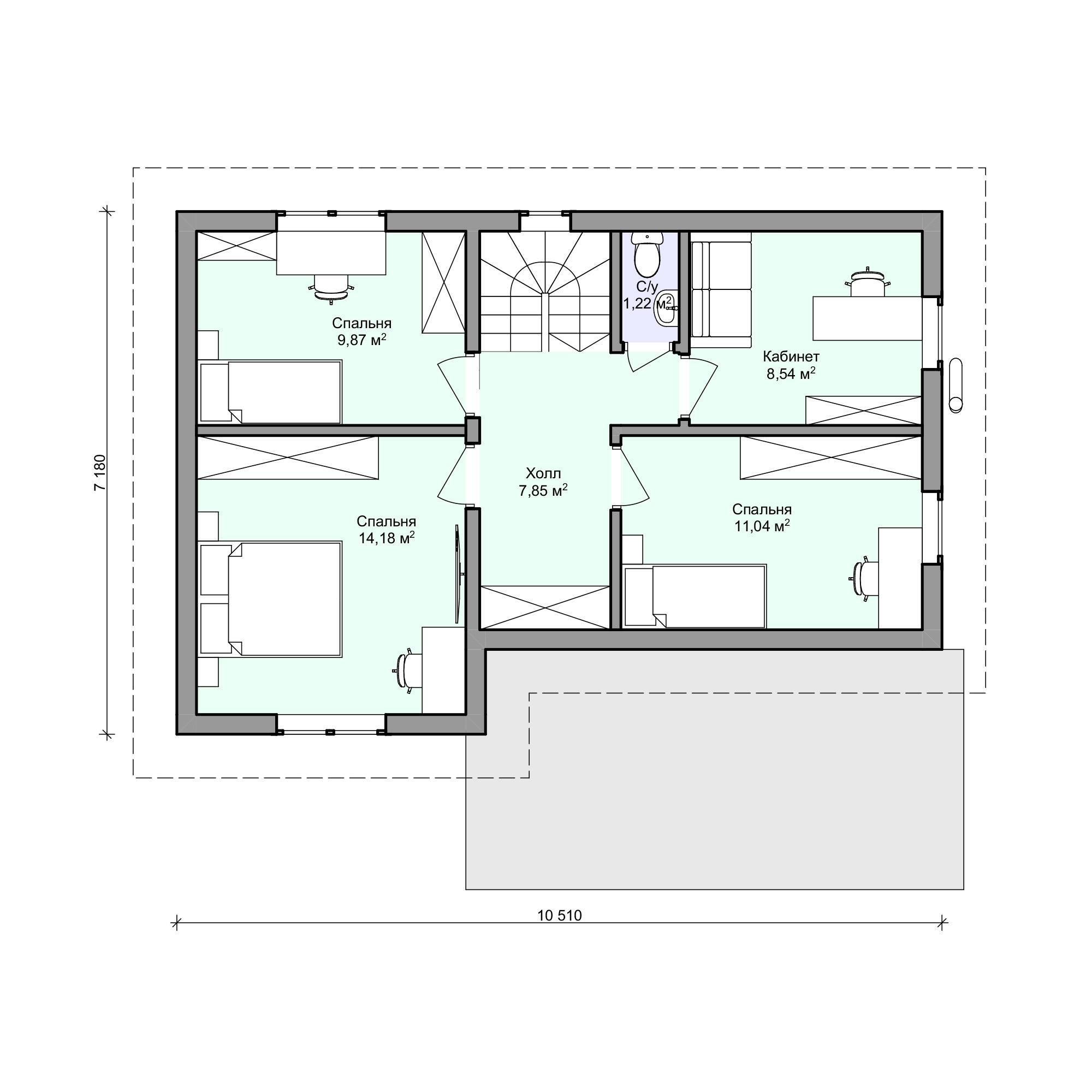 Планировка проекта 2-191