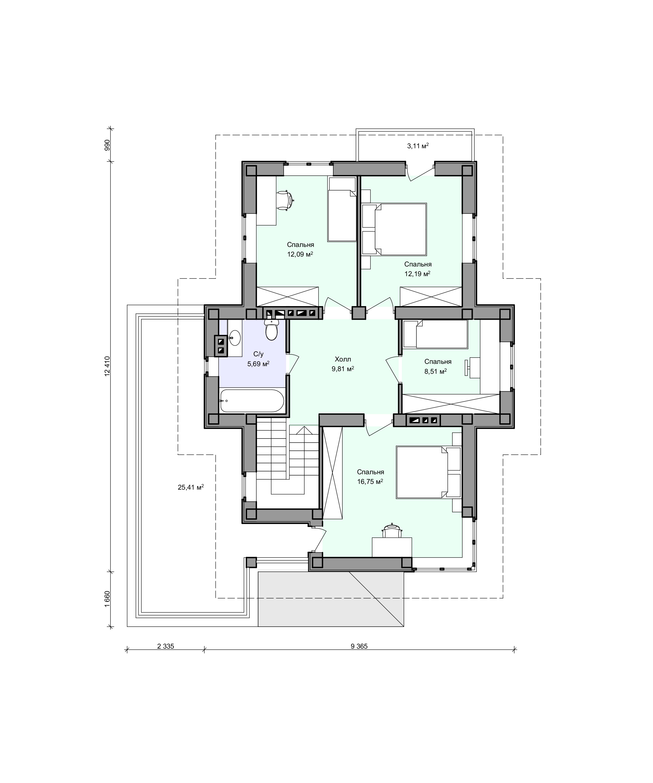 Планировка проекта 2-194