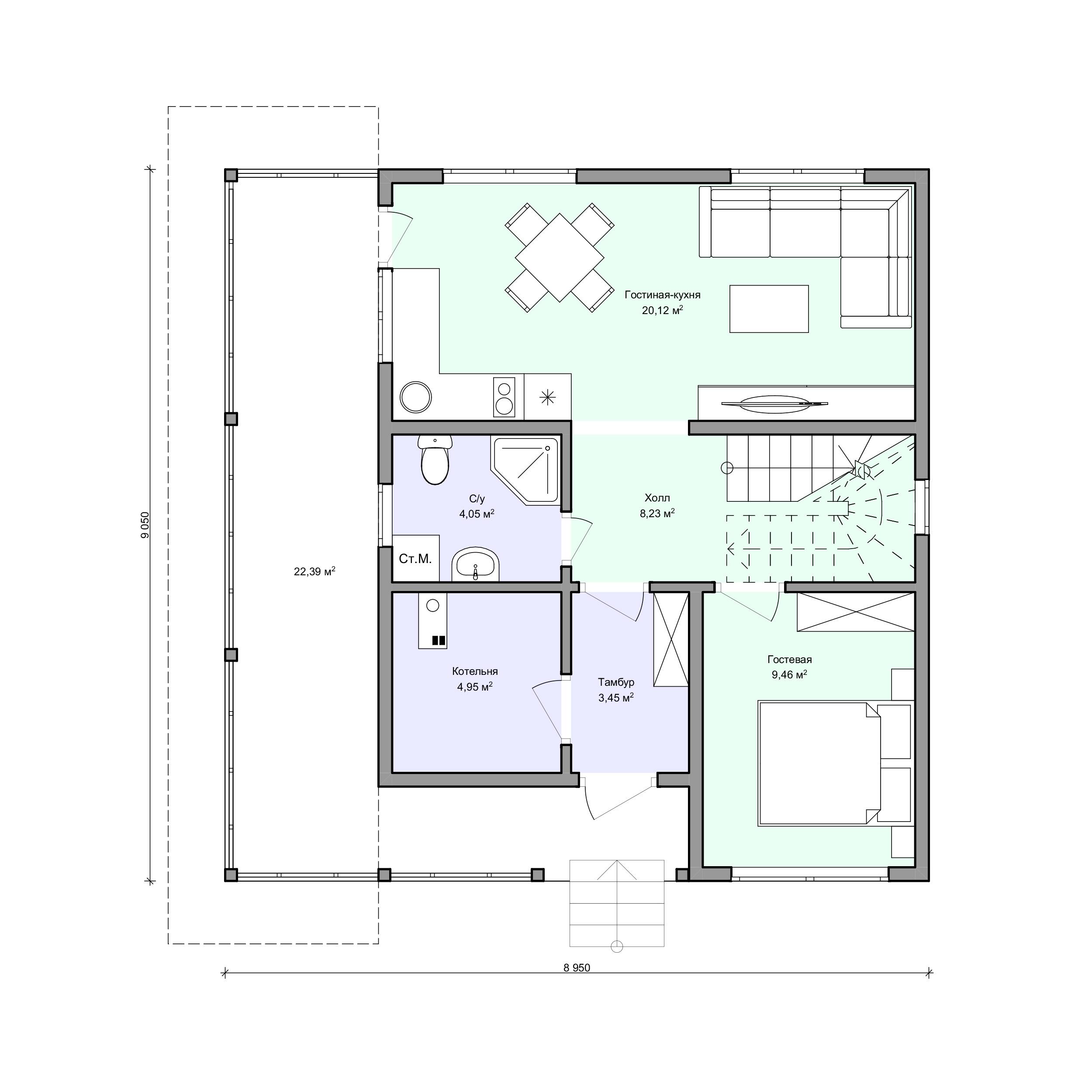 Планировка проекта 2-207