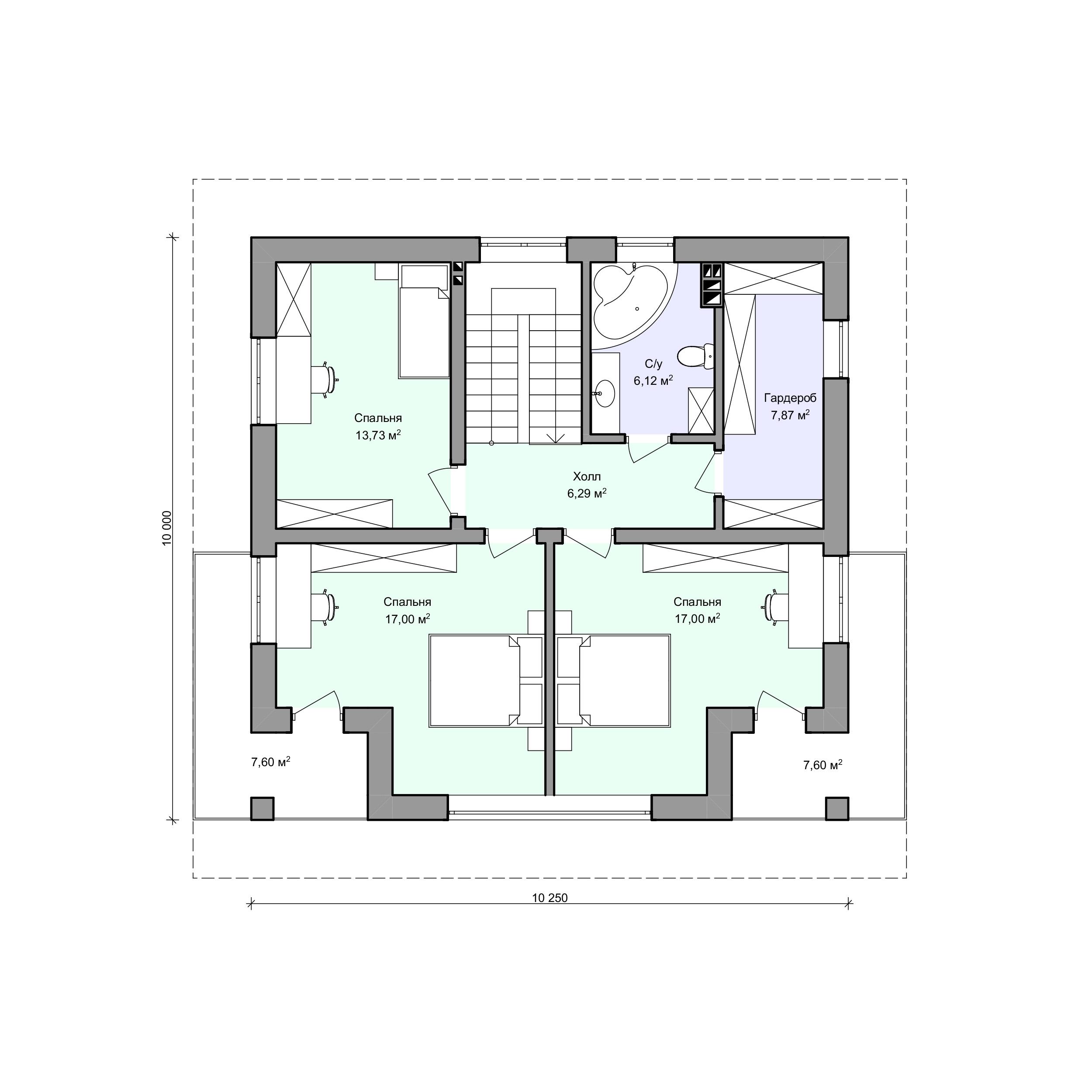 Планировка проекта 2-212
