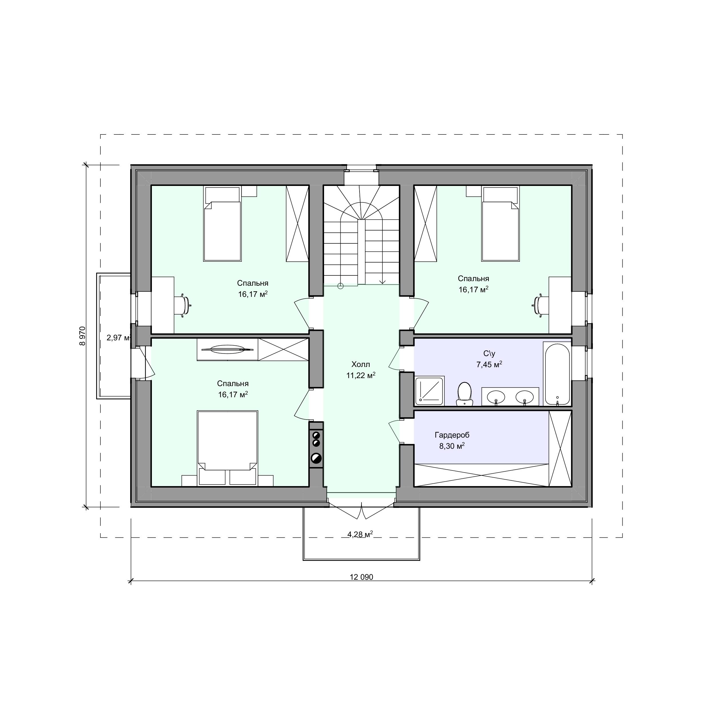 Планировка проекта 2-52