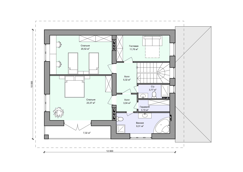 Планировка проекта 2-64