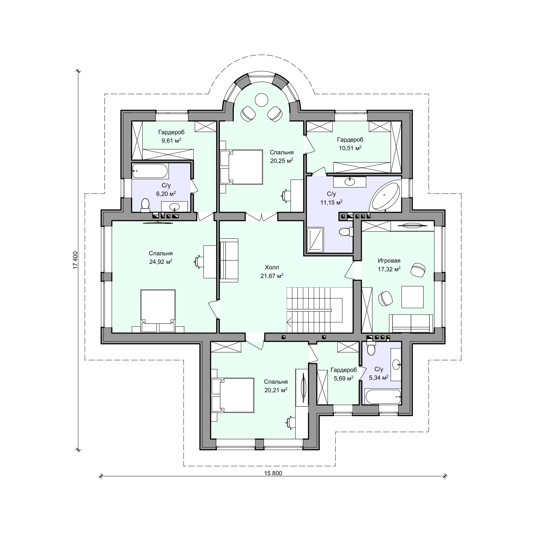 Планировка проекта 2-69