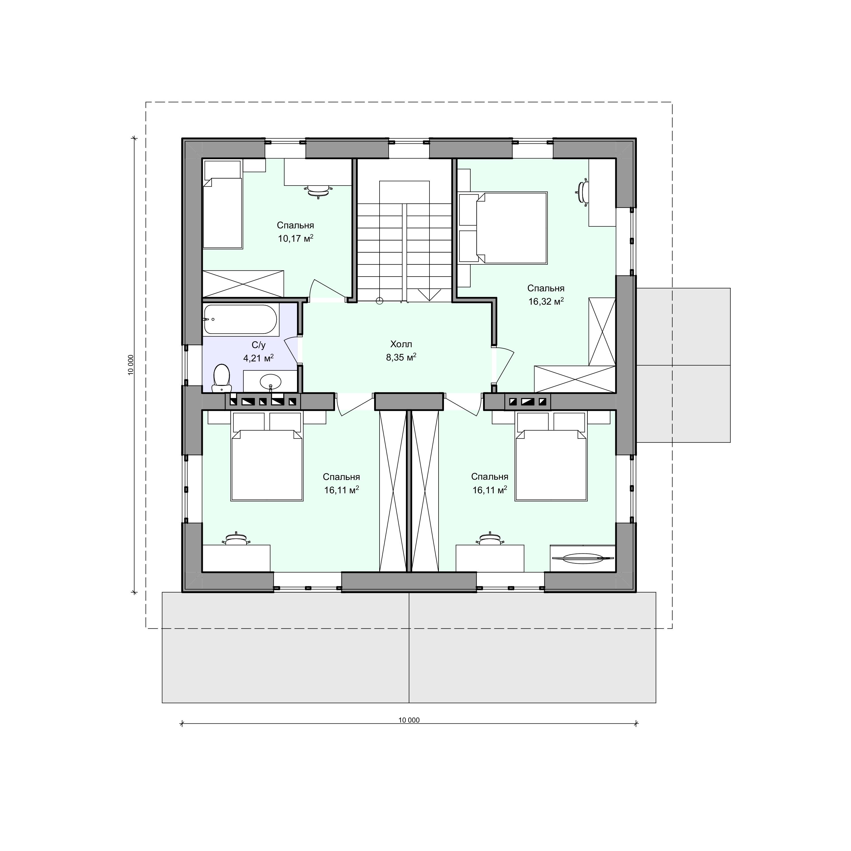 Планировка проекта 2-79