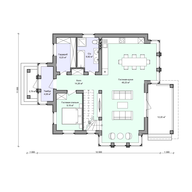 Планировка проекта 2-83
