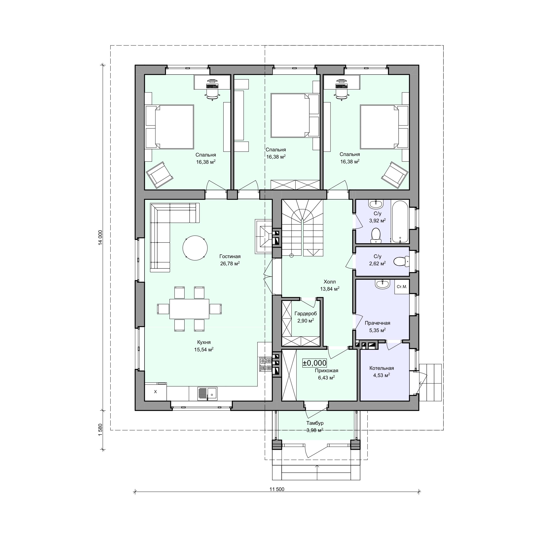 Планировка проекта 2-89