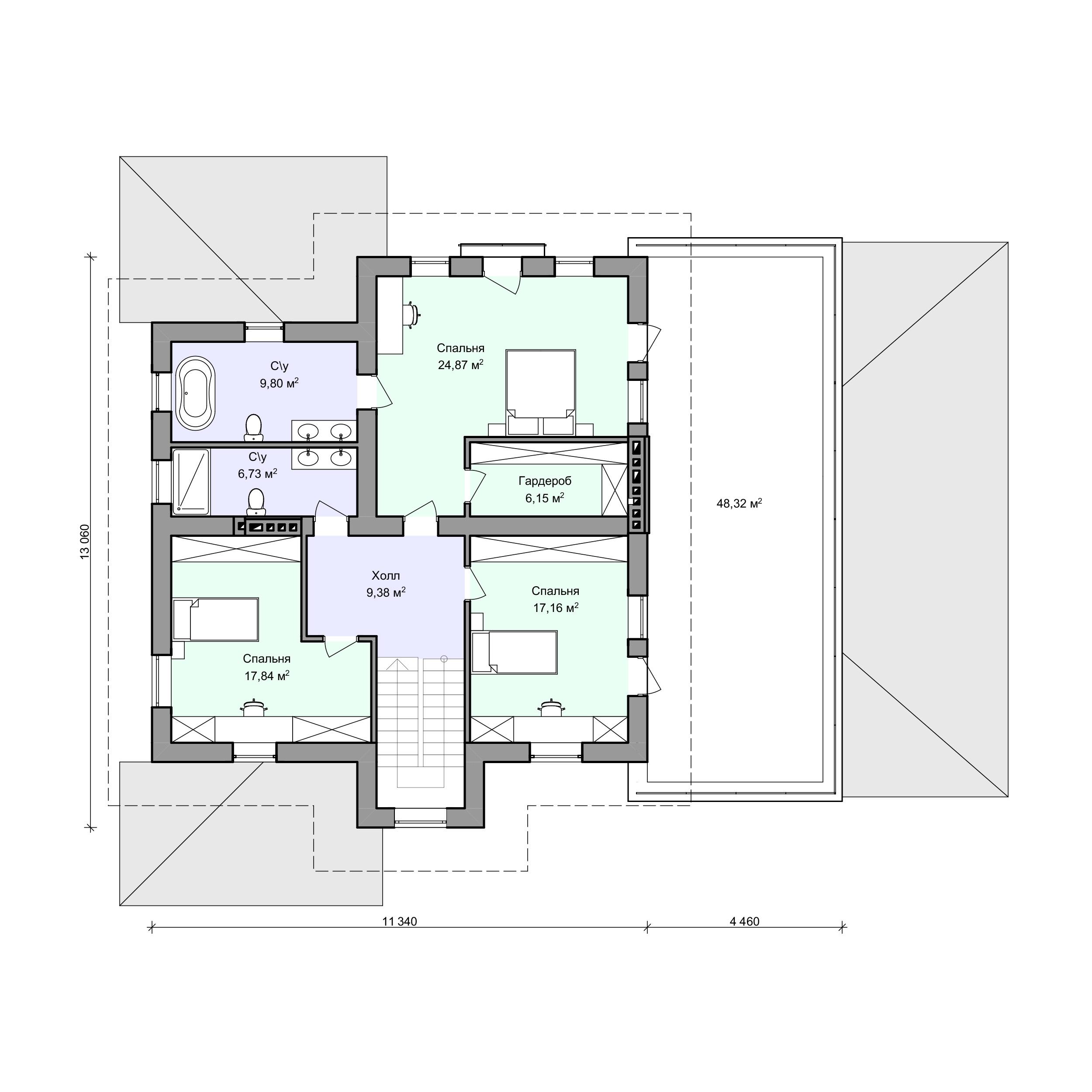 Планировка проекта 2-94