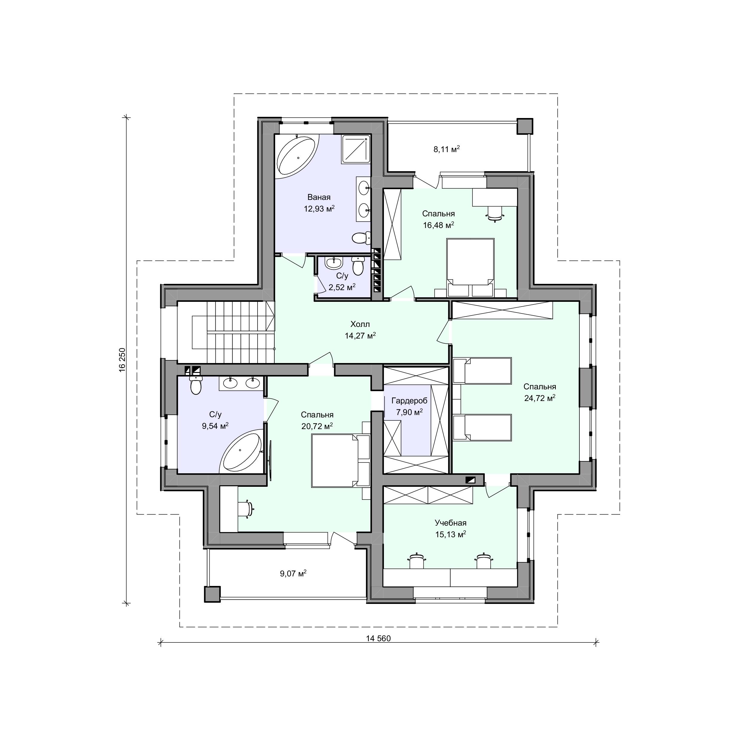 Планировка проекта 2-96