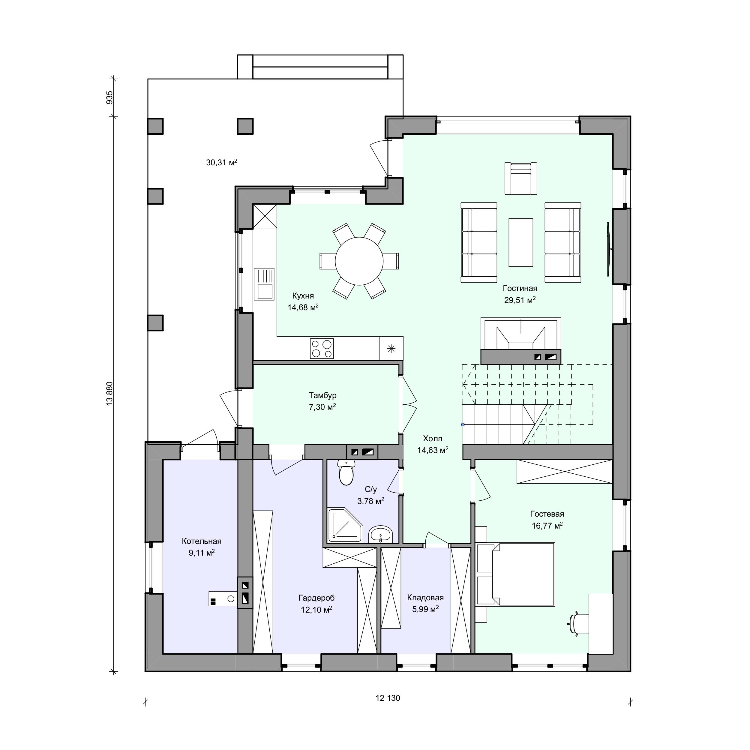 Планировка проекта 2-98