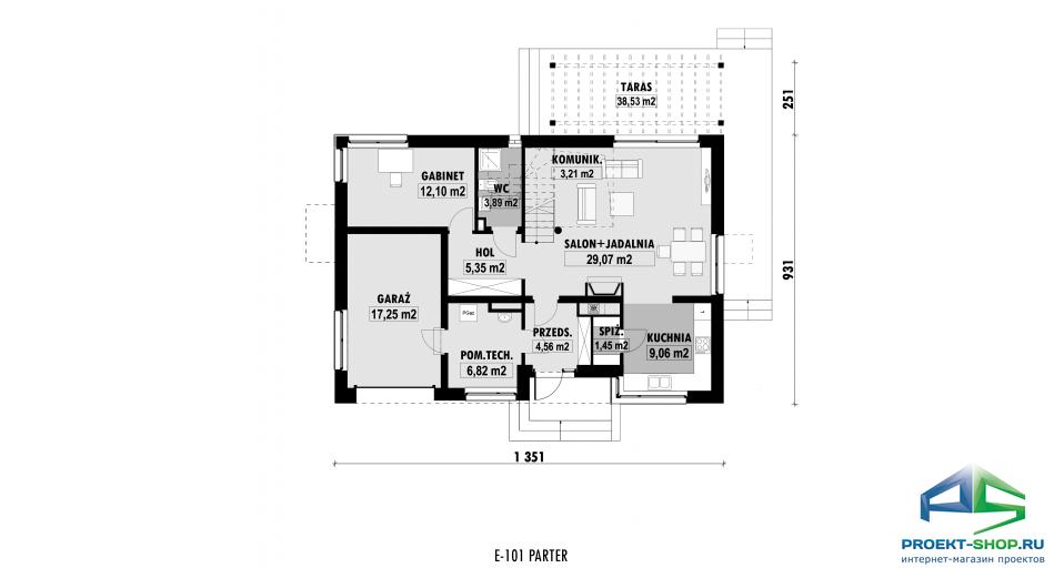 Планировка проекта E101