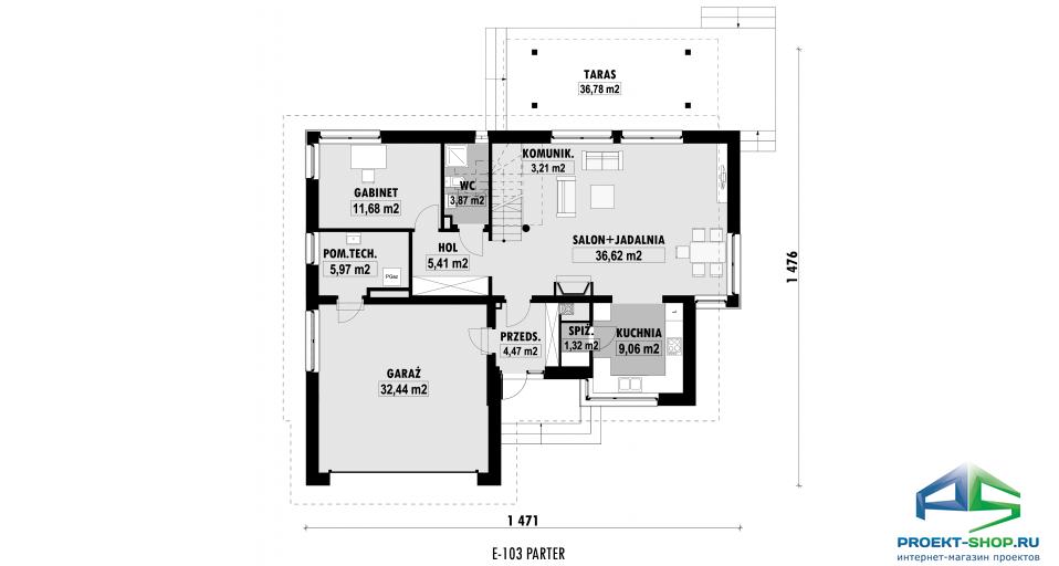 Планировка проекта E103