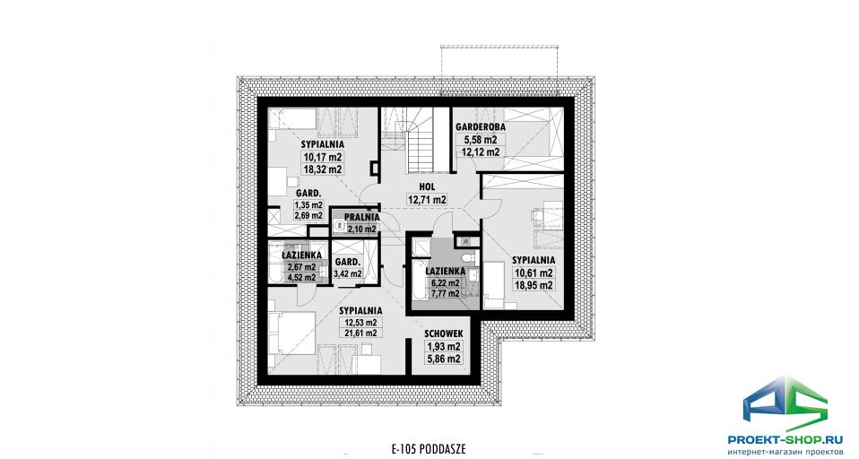Планировка проекта E105
