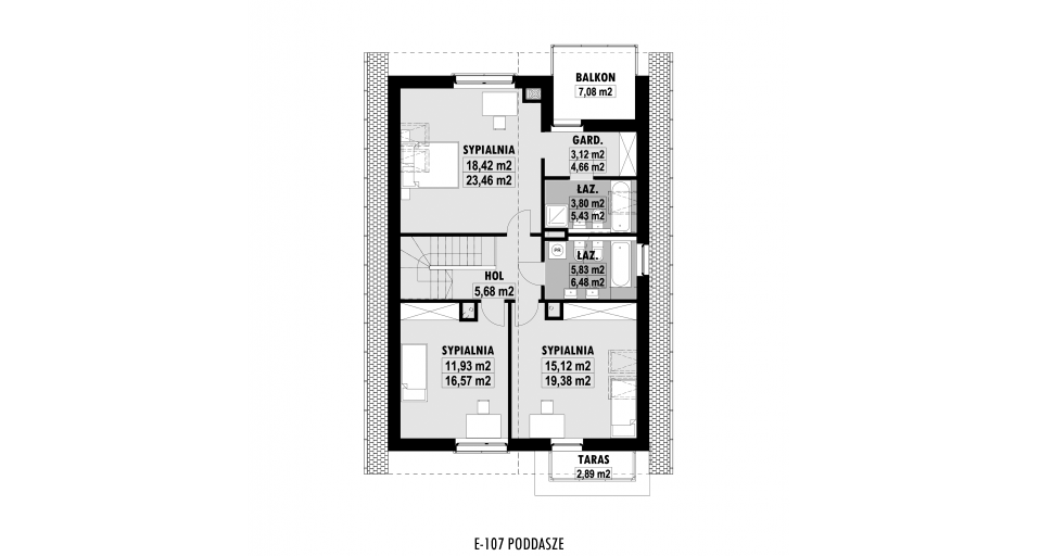 Планировка проекта E107