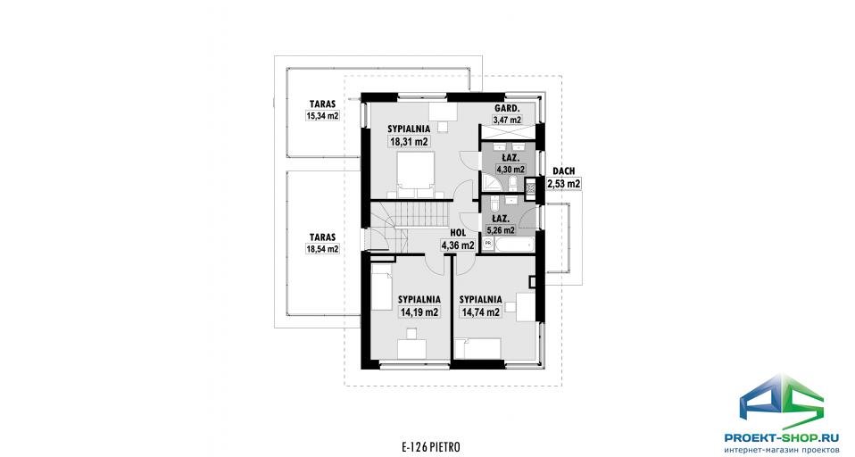 Планировка проекта E126