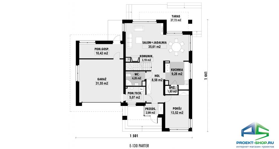Планировка проекта E130