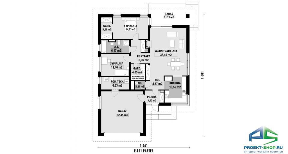 Планировка проекта E141