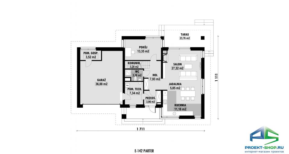 Планировка проекта E142