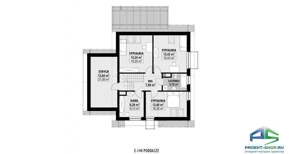Планировка проекта E144