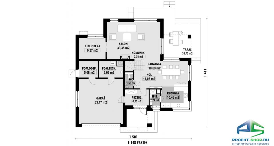 Планировка проекта E148