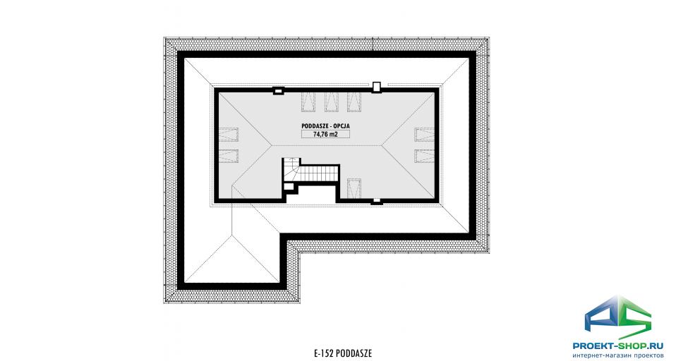 Планировка проекта E152