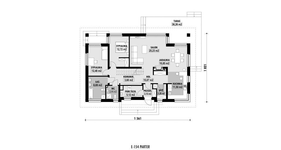 Планировка проекта E154