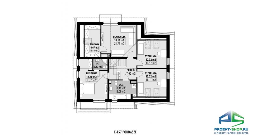 Планировка проекта E157