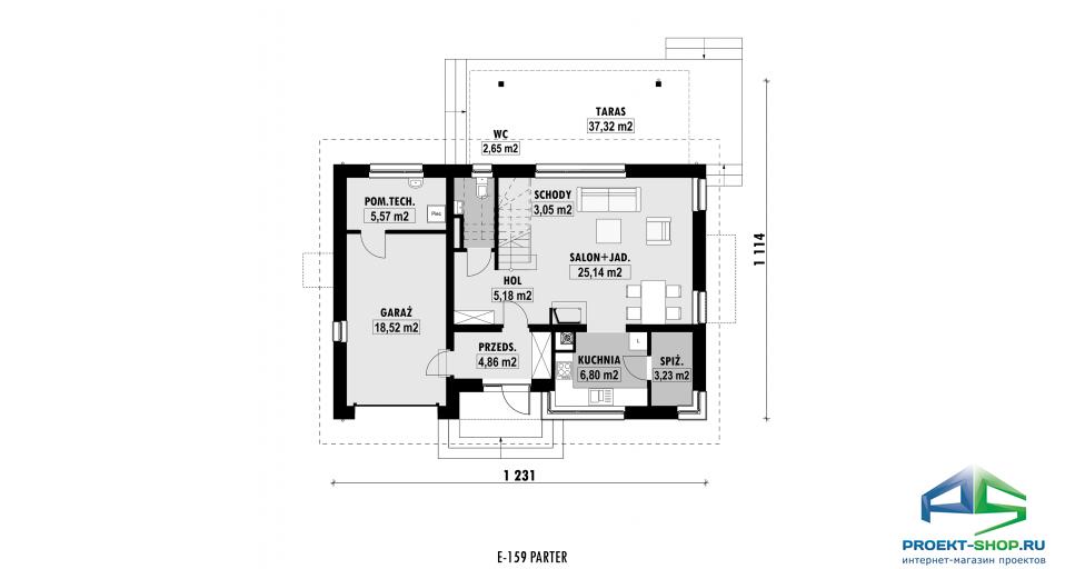 Планировка проекта E159